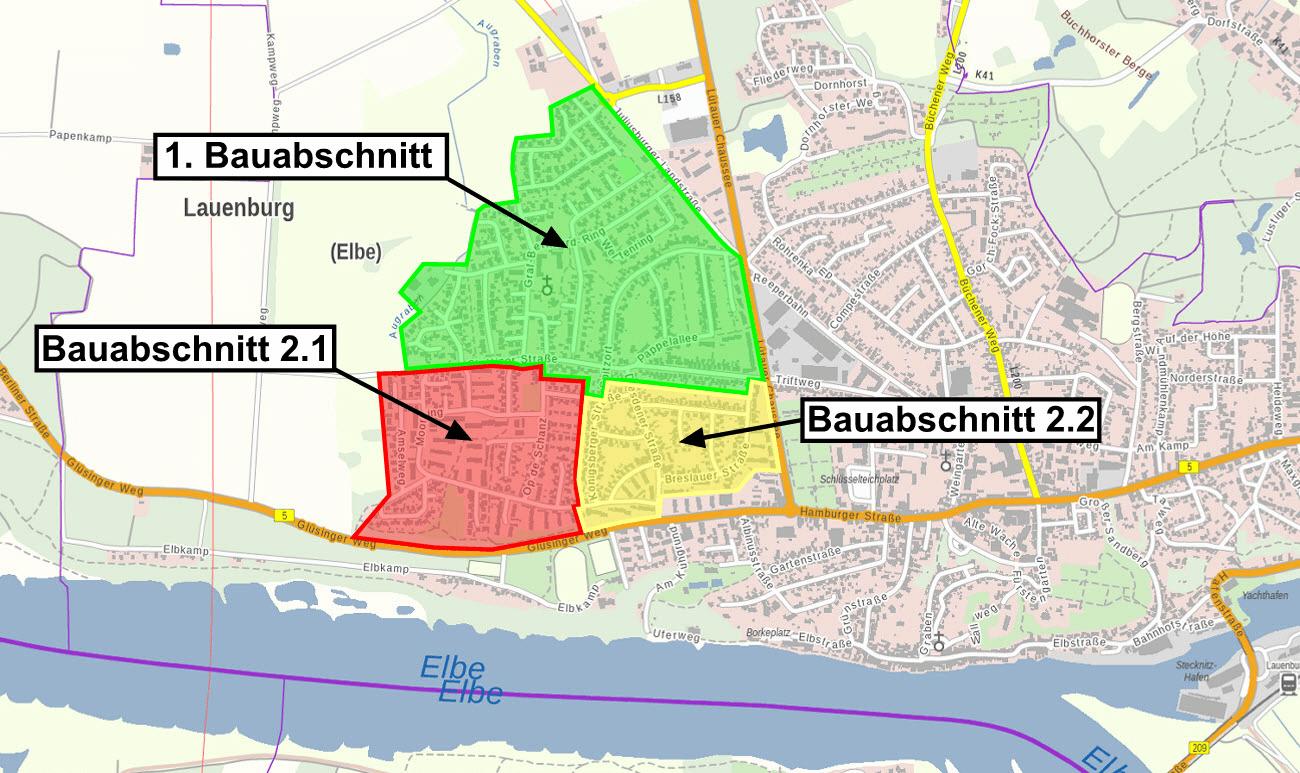 Bauabschnitt Lauenburg