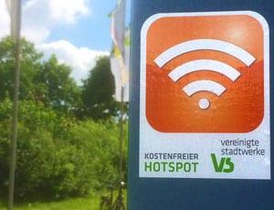 Free Wifi WLAN Hotspot VS Vereinigte Stadtwerke