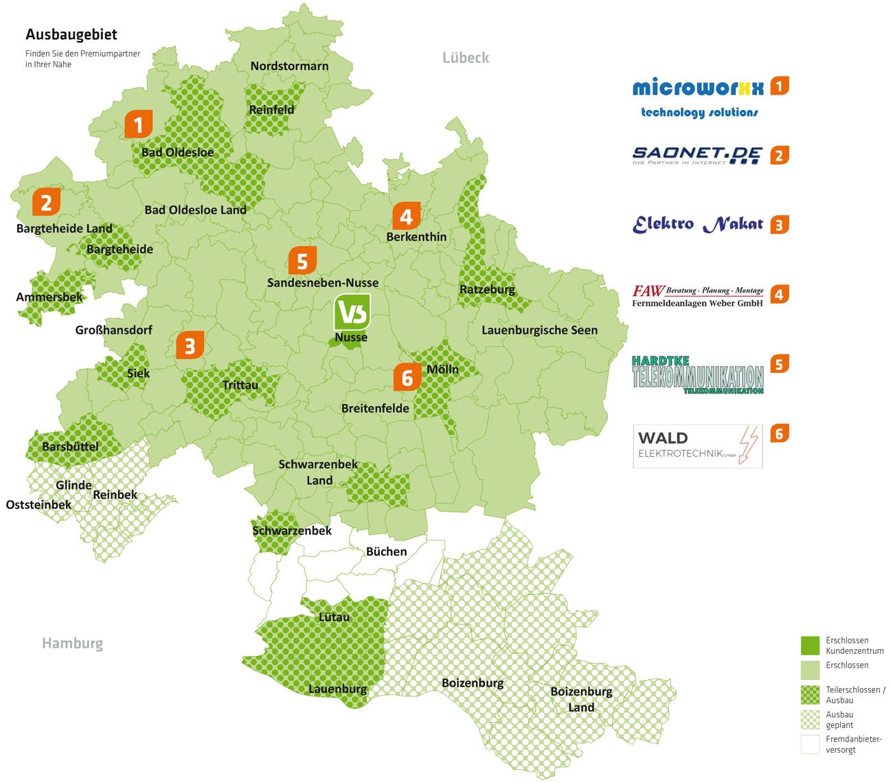 Partnerbetriebe VS Vereinigte Stadtwerke Media