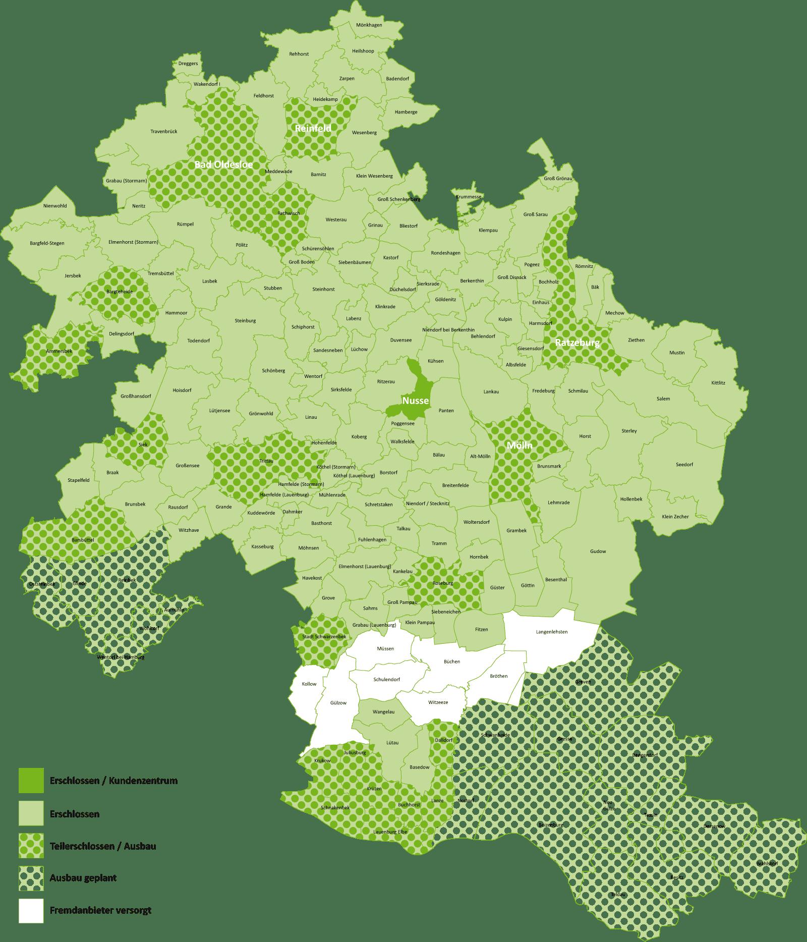 Glasfasernetzausbau VS Vereinigte Stadtwerke Media Schleswig-Holstein