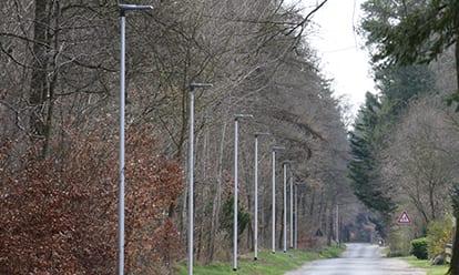 Straßenbeleuchtung VS Vereinigte Stadtwerke